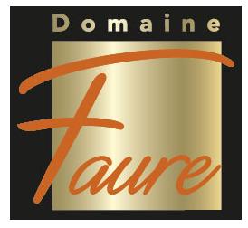 logo Domaine Faure vectorisé couleur